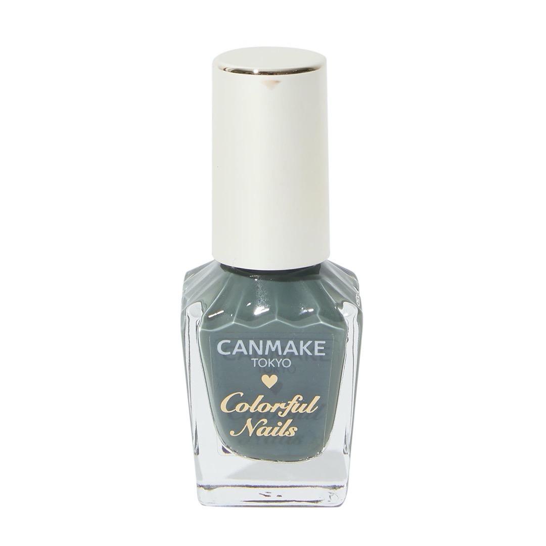 大人っぽい指先へ、CANMAKE(キャンメイク)『カラフルネイルズ N12 アーモンドグリーン』をご紹介に関する画像4