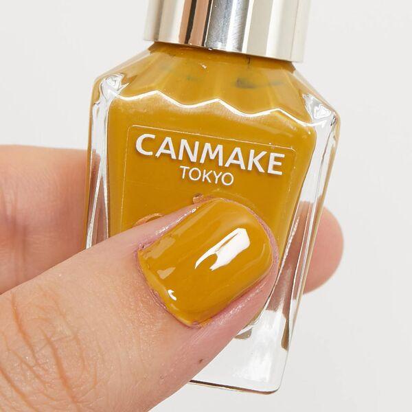 プチプラで試しやすい! 種類豊富なCANMAKE(キャンメイク)『カラフルネイルズ N13 マスタード』をご紹介に関する画像7