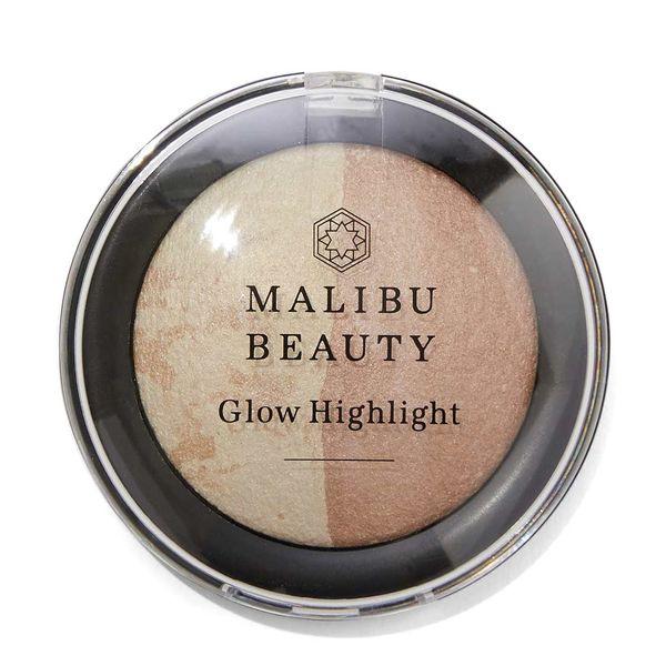 マリブビューティー グロウハイライト ブラウンムーンは上品な艶を仕込める高見えハイライト&チークに関する画像1