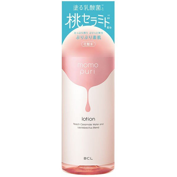 塗る乳酸菌と桃セラミド配合の保湿化粧水でぷりっと弾力素肌へに関する画像1