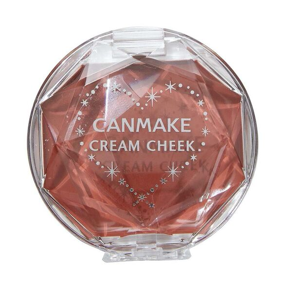 CANMAKE(キャンメイク)『クリームチーク 16 アーモンドテラコッタ』の使用感をレポに関する画像4