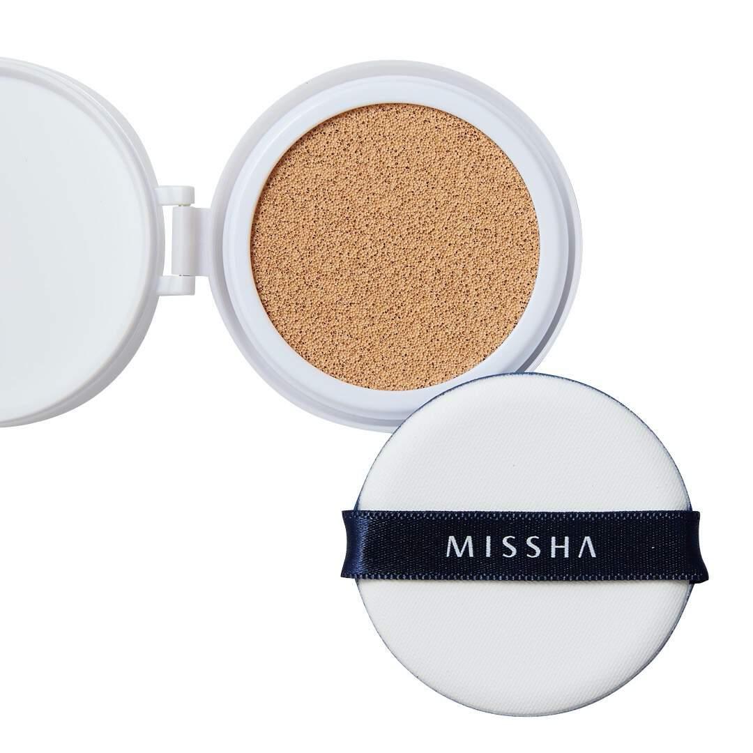 MISSHA(ミシャ)『M クッション ファンデーション No.21 明るい肌色』の使用感をレポに関する画像1