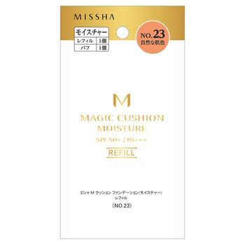 MISSHA(ミシャ)『ミシャ M クッション ファンデーション No.23 自然な肌色 モイスチャー』をご紹介に関する画像1