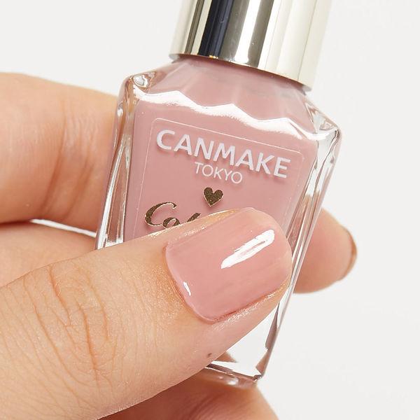 CANMAKE(キャンメイク)『カラフルネイルズ N19 スウィートコーラル』の使用感をレポに関する画像7