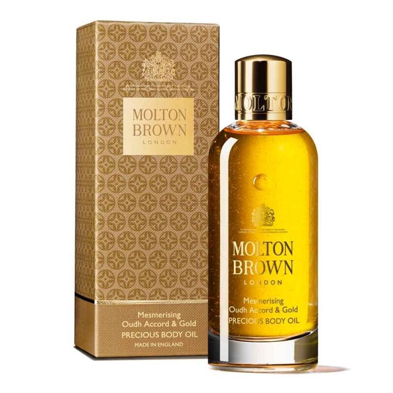 MOLTON BROWN(モルトンブラウン)『ウード・アコード&ゴールド ボディオイル』の使用感をレポに関する画像4