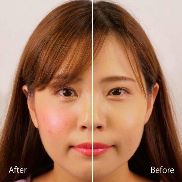 Makeup Revolution(メイクアップレボリューション)ブラッシングハート ハートブラッシャー 3つのカラーがブレンドされたチークで立体的なツヤ感ほっぺに!に関する画像7