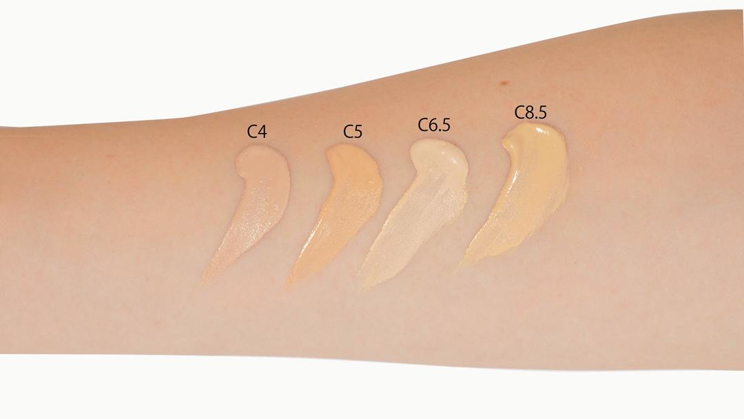 メイクアップレボリューション コンシールアンドディファインコンシーラー C5 シアーゴールド 肌色にあわせて選べるコンシーラー!に関する画像13