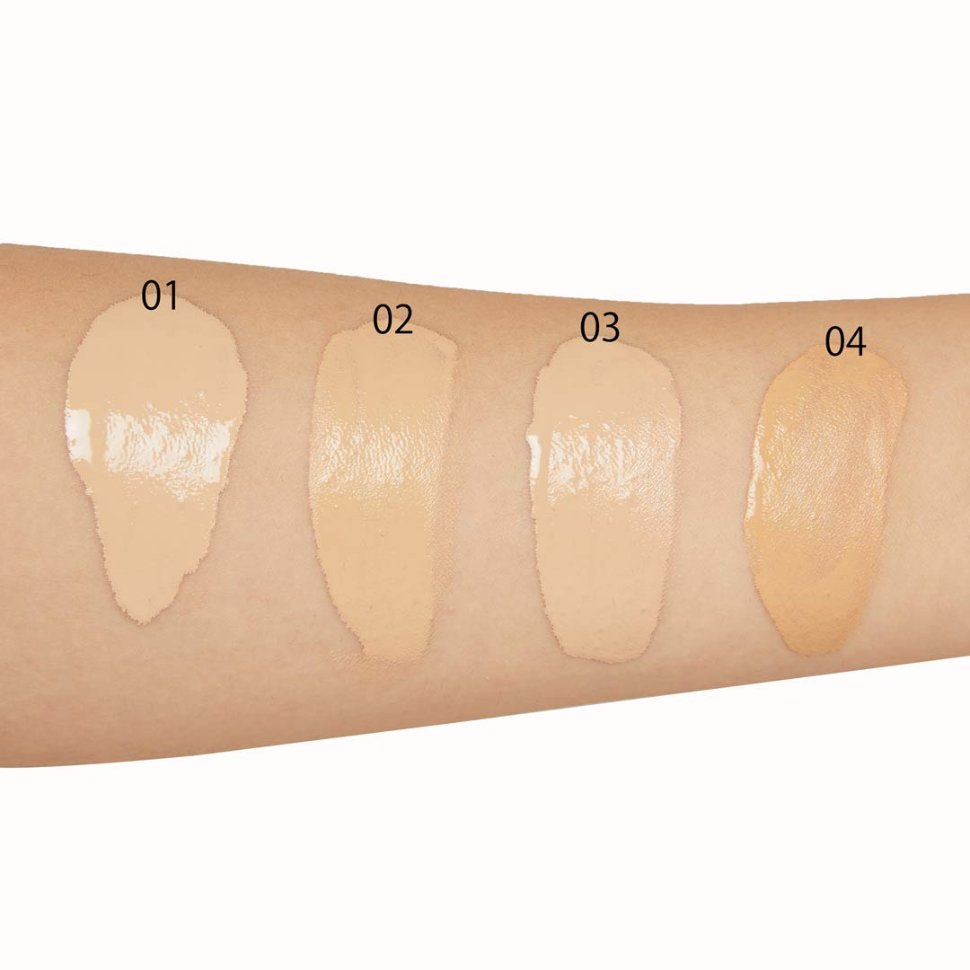ほとんど美容液!?なセラムファンデーション 普通〜やや明るめの肌色向け『ST02 ナチュラルオークル20』をご紹介に関する画像13