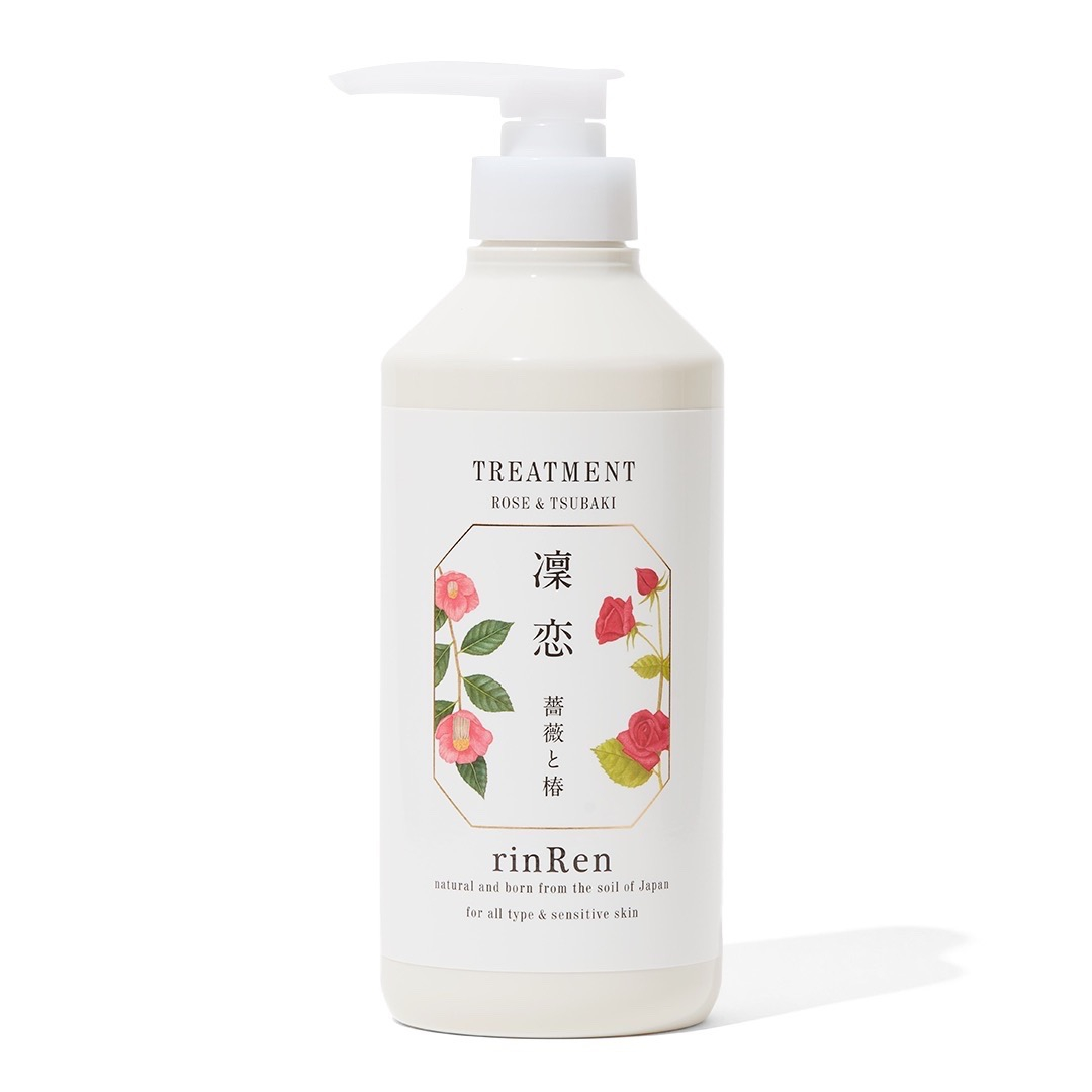 芳醇なローズの香り!国産植物由来成分でしっとりまとまる髪に導く無添加トリートメントに関する画像6