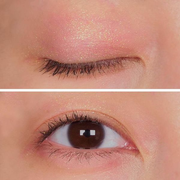 ゴールドラメ×オレンジブラウンで透明感のある目元にに関する画像10