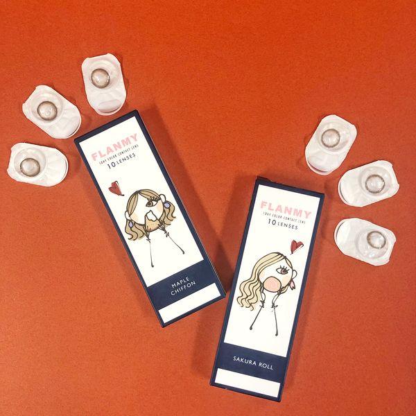 フランミー メープルシフォンで色素薄い系の瞳を叶える!に関する画像1