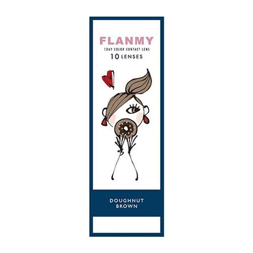 こっそり叶う、オトナかわいい瞳へ!『FLANMY(フランミー)ドーナツブラウン』をご紹介♡に関する画像1