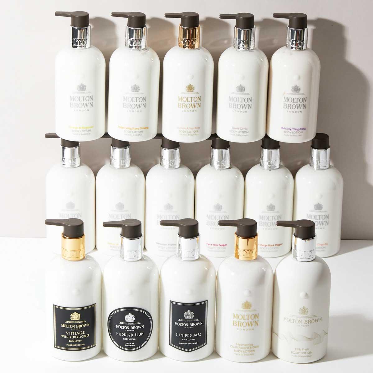 知的で品のあるセンシュアルな香り。モルトンブラウン『スエード オリス ボディローション』をご紹介に関する画像1