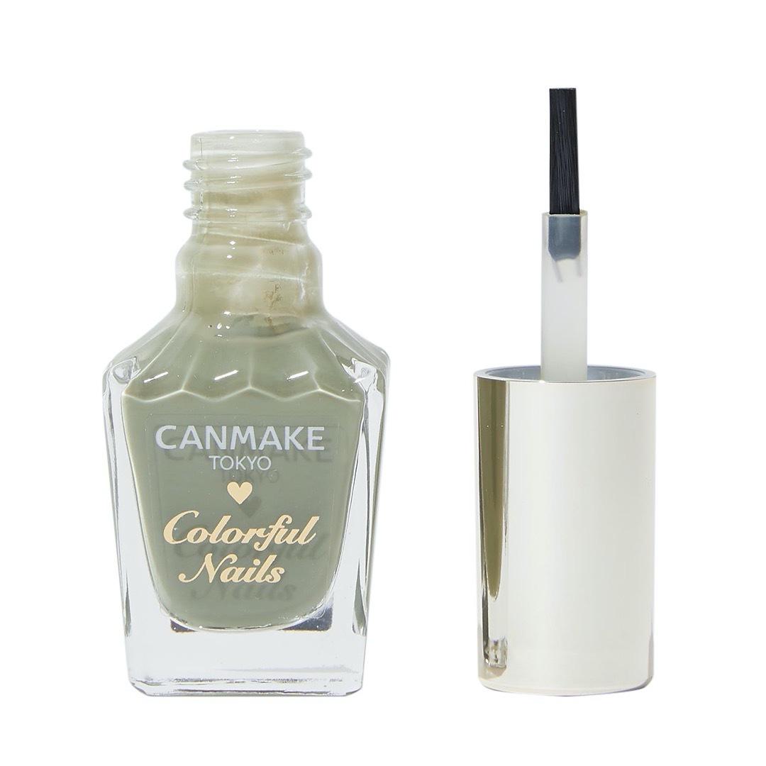 CANMAKE(キャンメイク)『カラフルネイルズ N26 レディカーキ』の使用感をレポに関する画像1