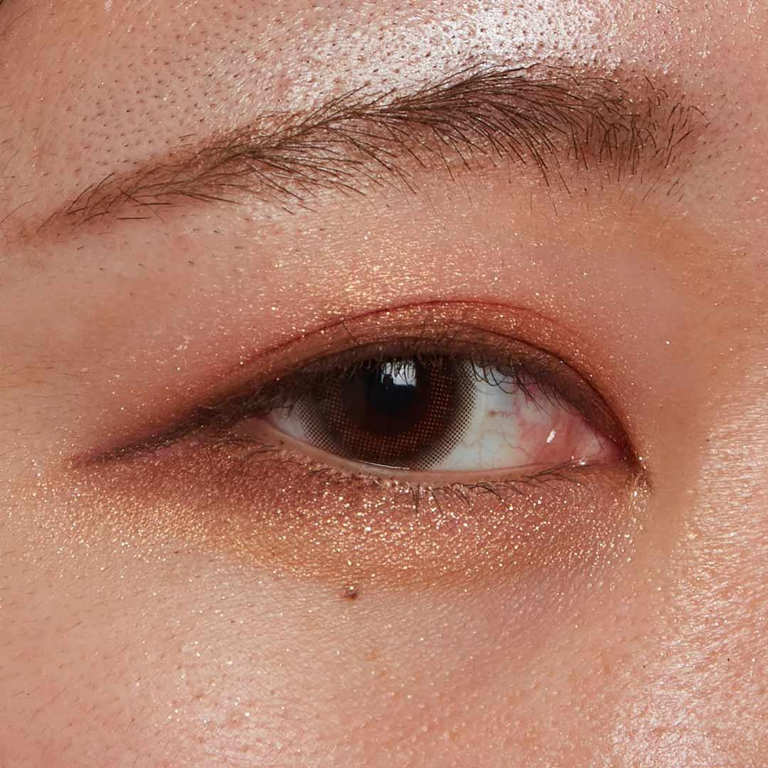 ナチュラルなピンクブラウンであざと可愛い瞳に!に関する画像24