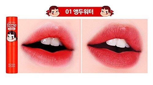 韓国コスメHOLIKAHOLIKA(ホリカホリカ)抜群の色持ちとしっとり保湿を同時に叶えるバームタイプのペコちゃんティント01チェリーに関する画像7