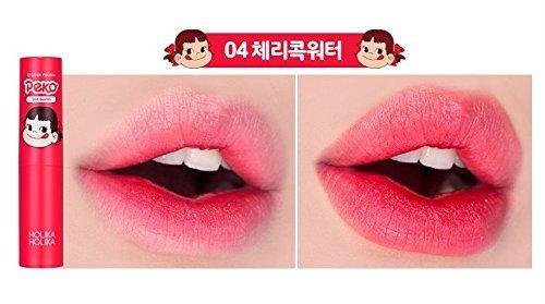 韓国コスメHOLIKAHOLIKA(ホリカホリカ)抜群の色持ちとしっとり保湿を同時に叶えるバームタイプのペコちゃんティント04チェリーコックに関する画像7