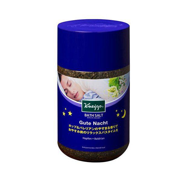 お休み前のリラックスにぴったりなKneipp(クナイプ)『クナイプ グーテナハト バスソルト ホップ&バレリアンの香り』の使用感をレポに関する画像1