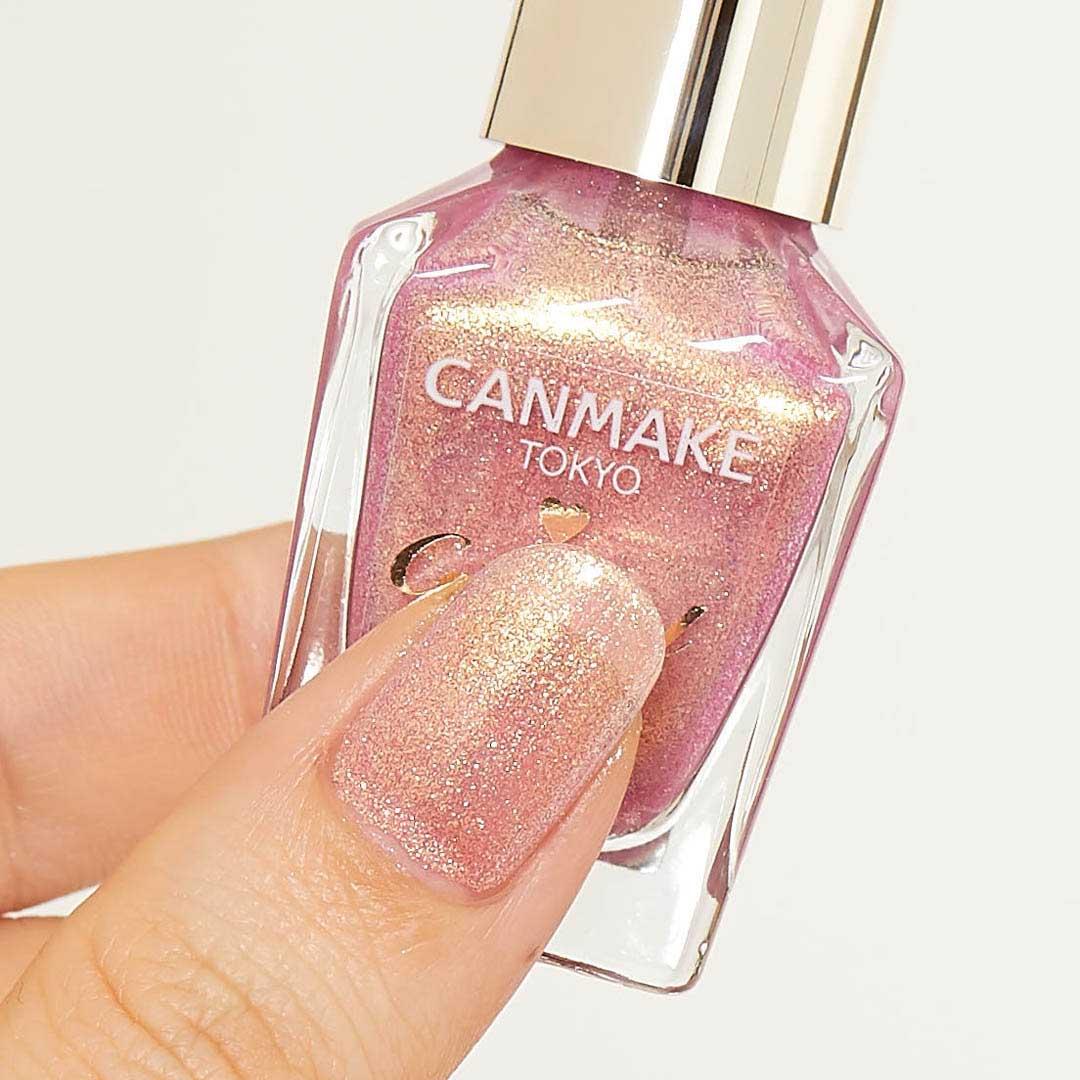 CANMAKE(キャンメイク)『カラフルネイルズ N31 ラブリーシャワー』の使用感をレポに関する画像4