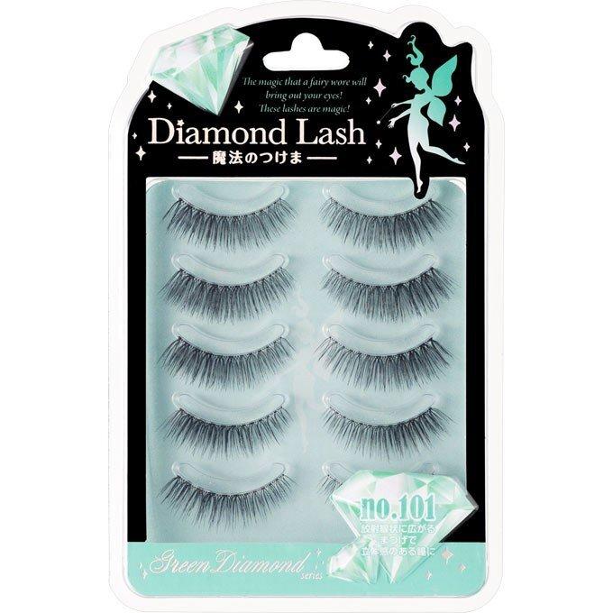 Diamond Lash(ダイヤモンドラッシュ)『グリーンダイヤモンドシリーズ no.101』の使用感をレポに関する画像1