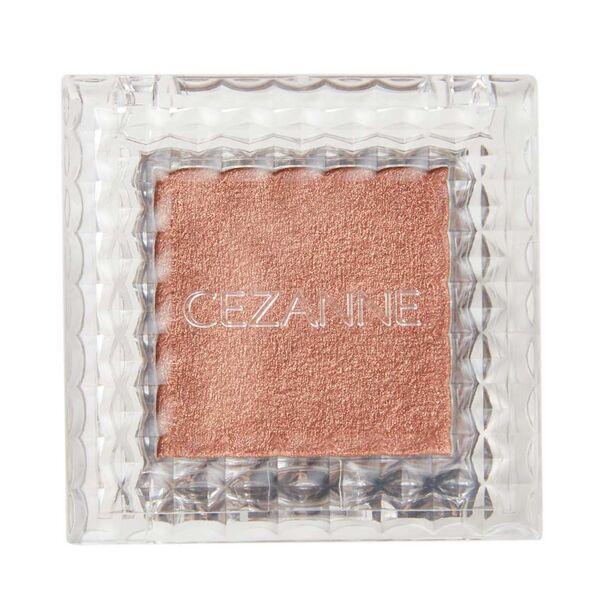 CEZANNE(セザンヌ)『シングルカラーアイシャドウ 06 オレンジブラウン』の使用感をレポ!に関する画像4