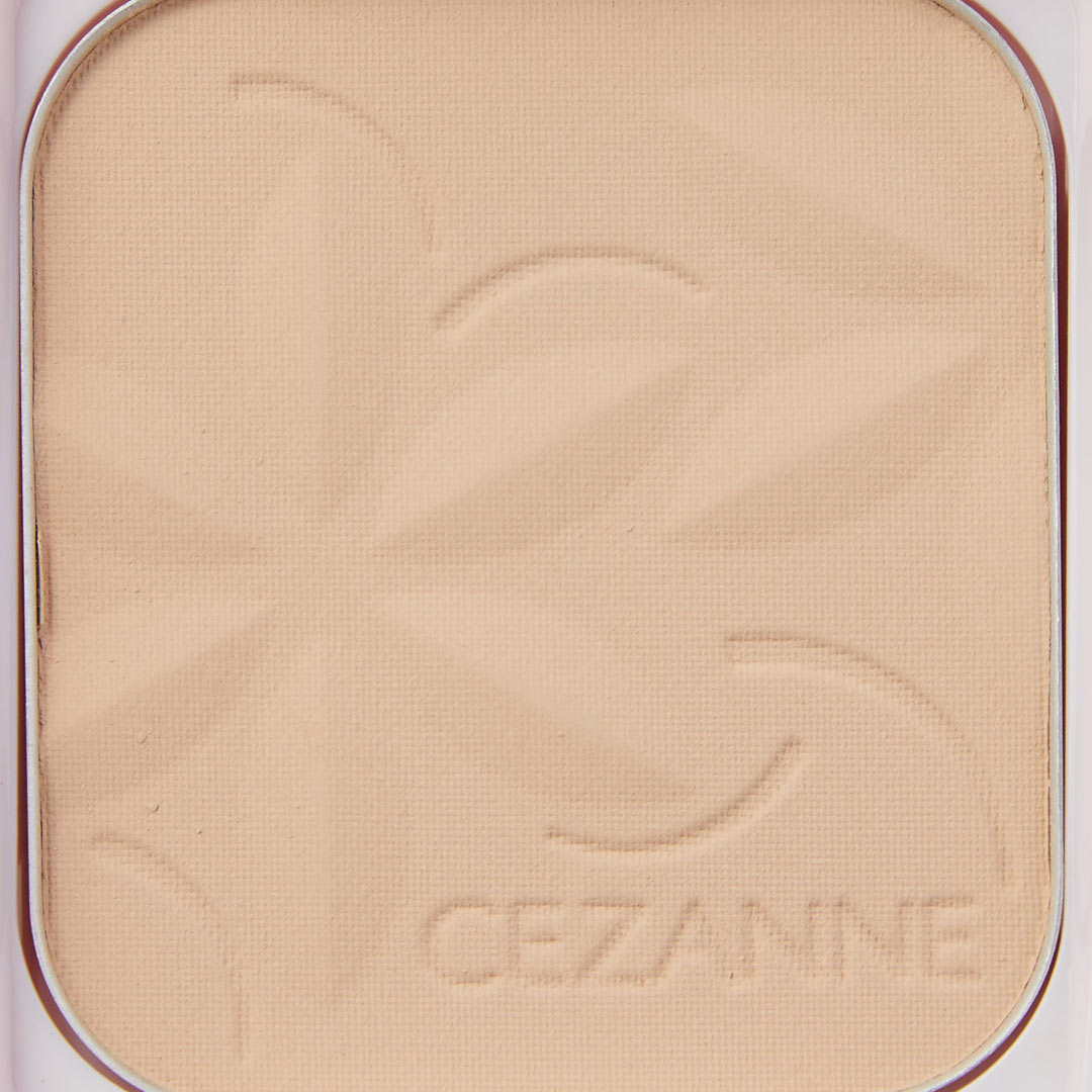 CEZANNE(セザンヌ)『ウルトラカバーUVパクト 2 ライト オークル』の使用感をレポに関する画像12