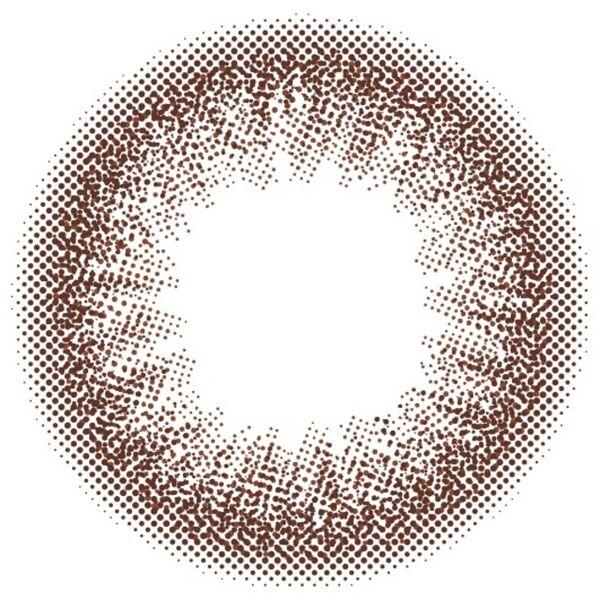ナチュラルカラーで立体感をプラスするカラーズ『colors マンスリー (度なし) エアリーブラウン』をご紹介に関する画像1
