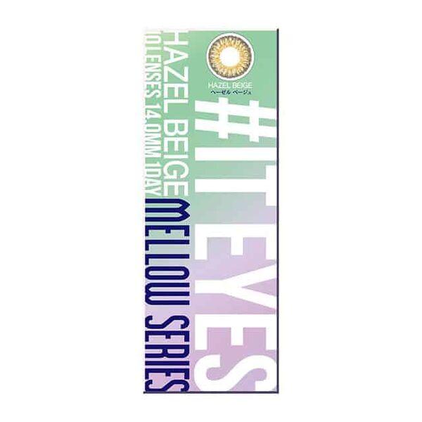 IT EYES(イットアイズ)『イットアイズ メローシリーズ ワンデー ヘーゼルベージュ』をご紹介に関する画像4