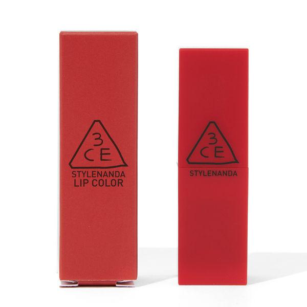 ハッと息を飲むほどきれいな赤 3CE『レッドレシピ マットリップカラー 214 スクウィージング』をご紹介に関する画像1