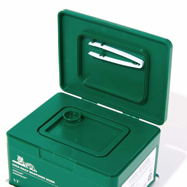 毎日1枚使って簡単水分チャージ VT cosmetics『シカデイリースージングマスク』に関する画像1