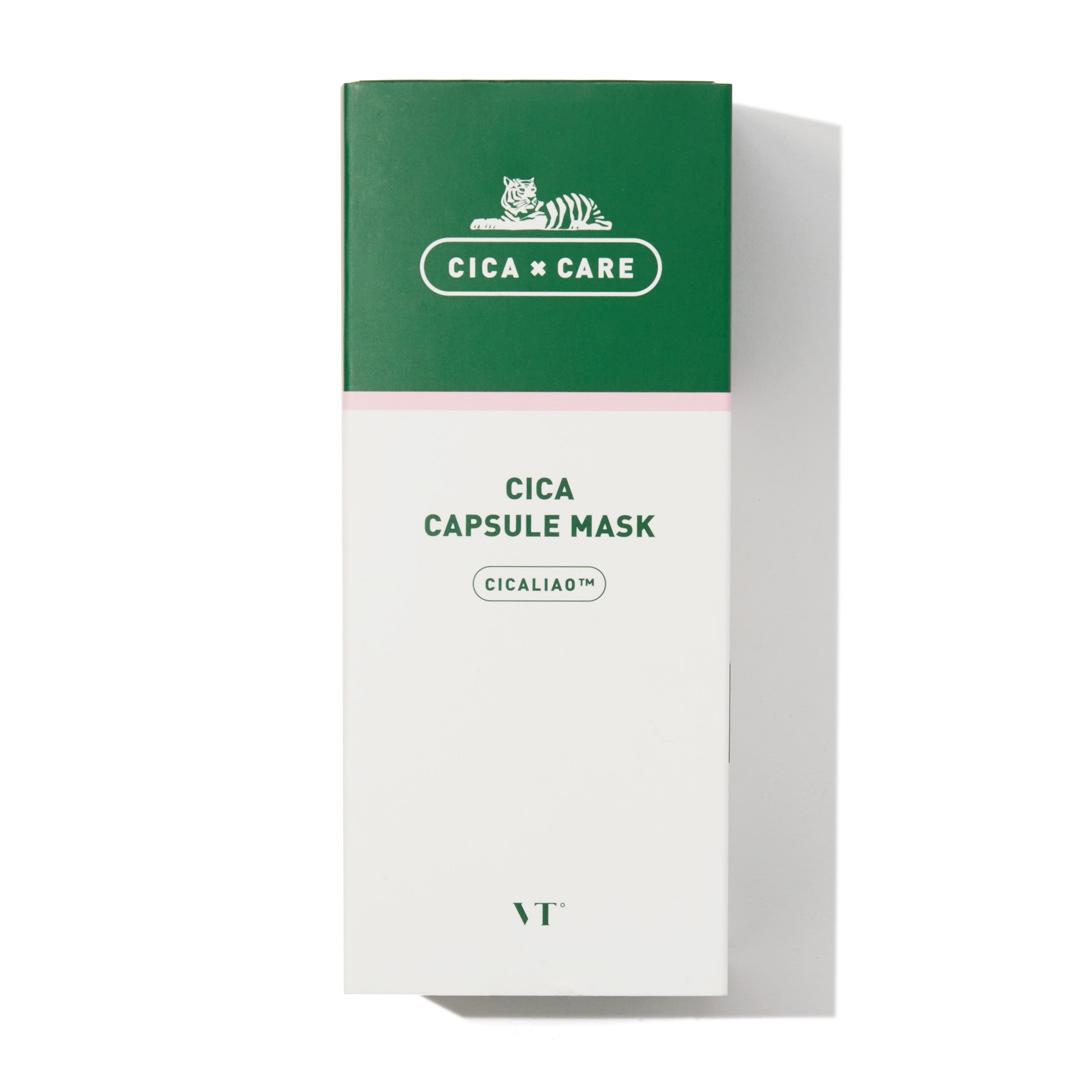 シカと緑茶成分で肌疲れを一掃! VT cosmetics『シカカプセルマスク』をご紹介!に関する画像1