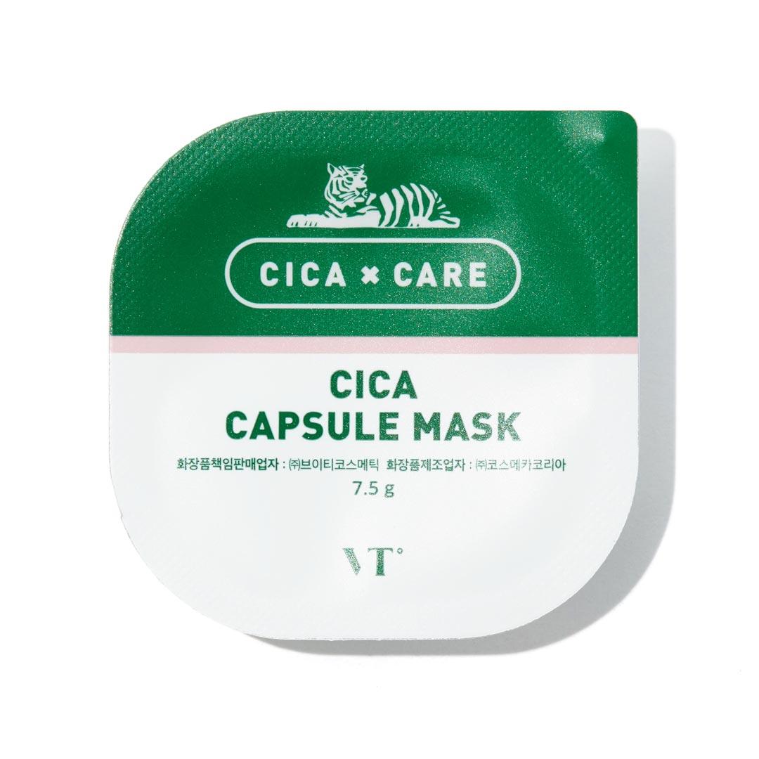 シカと緑茶成分で肌疲れを一掃! VT cosmetics『シカカプセルマスク』をご紹介!に関する画像6