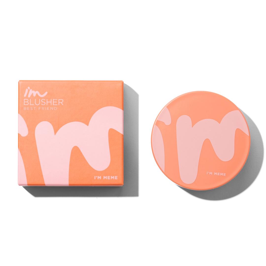ツートンカラーのキュートなチーク♡ベビーピンク&オレンジででヘルシーな印象にしよう!に関する画像1