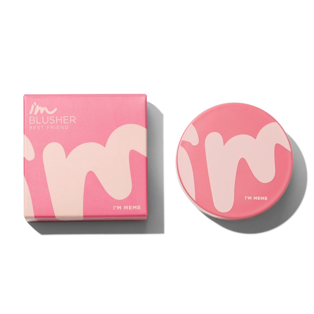 ツートンカラーのキュートなチーク♡ベージュ&ローズピンクで甘めな印象にに関する画像1