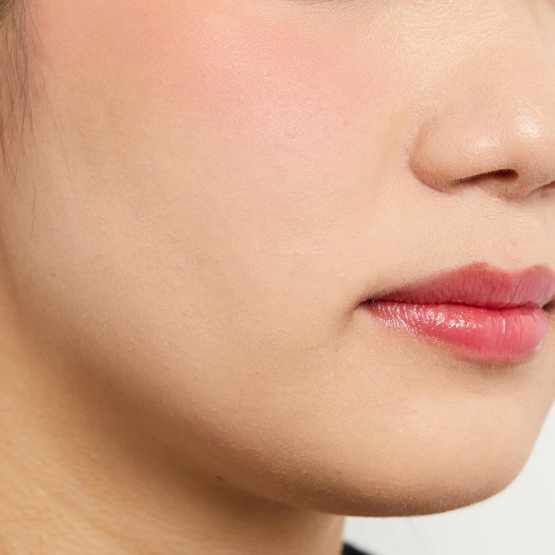 ツートンカラーのキュートなチーク♡ベージュ&ローズピンクで甘めな印象にに関する画像17
