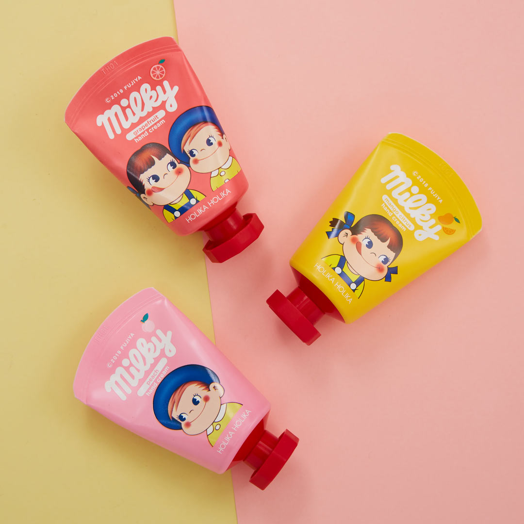 パケ買い必須! 3種全部が主役の『ペコちゃんハンドクリーム』をご紹介! に関する画像1
