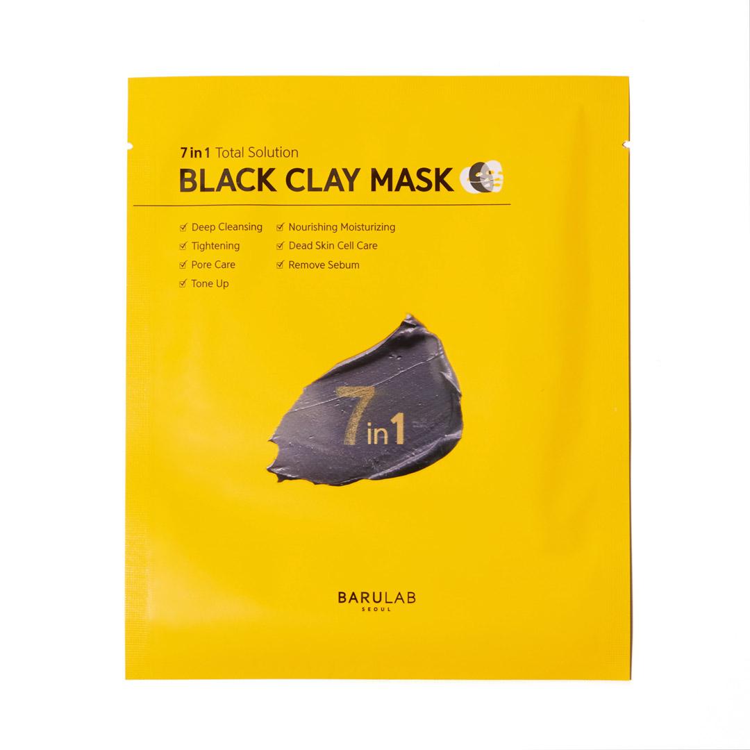 シート状のクレイマスクで気になる毛穴汚れをすっきり! バルラボのブラッククレイマスクをご紹介に関する画像1