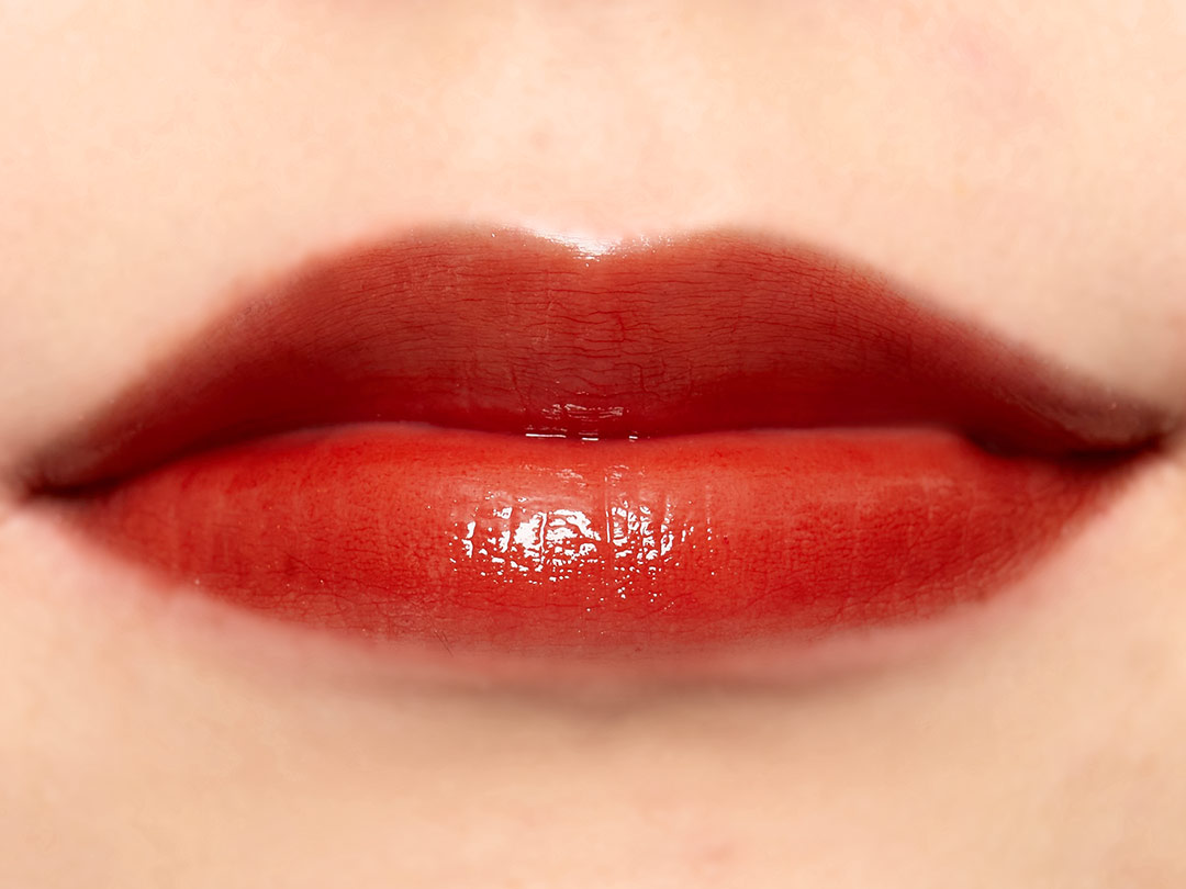 これ以上ない透明感! ガラスのように透けるrom&nd(ロムアンド)の『グラスティングウォーターティント 01コーラルミスト』をご紹介に関する画像27