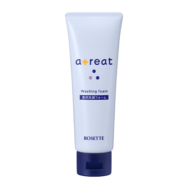 濃密な泡でなめらか肌に洗い上げるROSETTE(ロゼット)『atreat 薬用洗顔フォーム』をご紹介に関する画像1