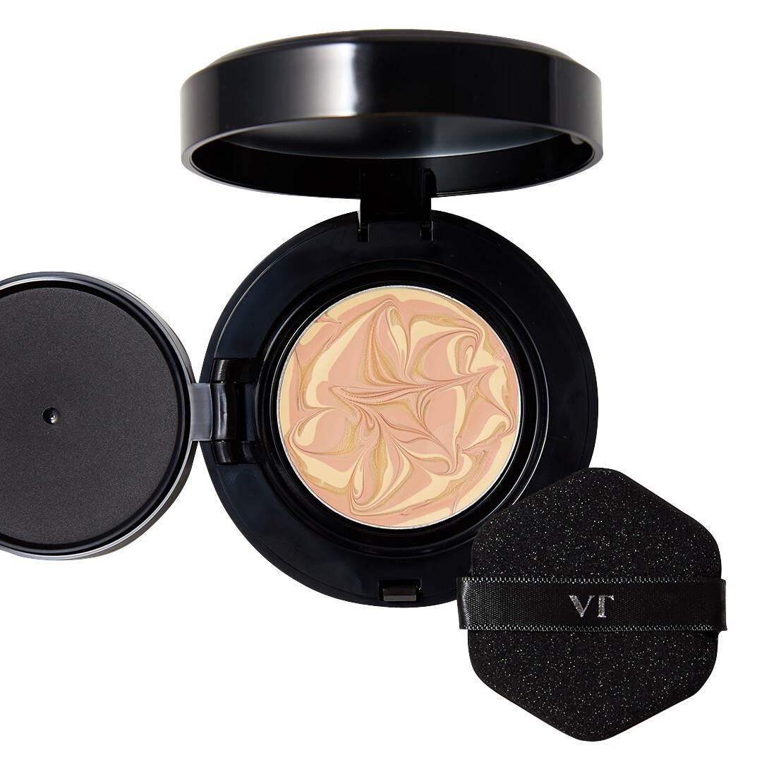 VT cosmetics(ブイティー コスメティックス)『プログロスコラーゲンパクト BLACK21 ライトベージュ』の使用感をレポ!に関する画像13