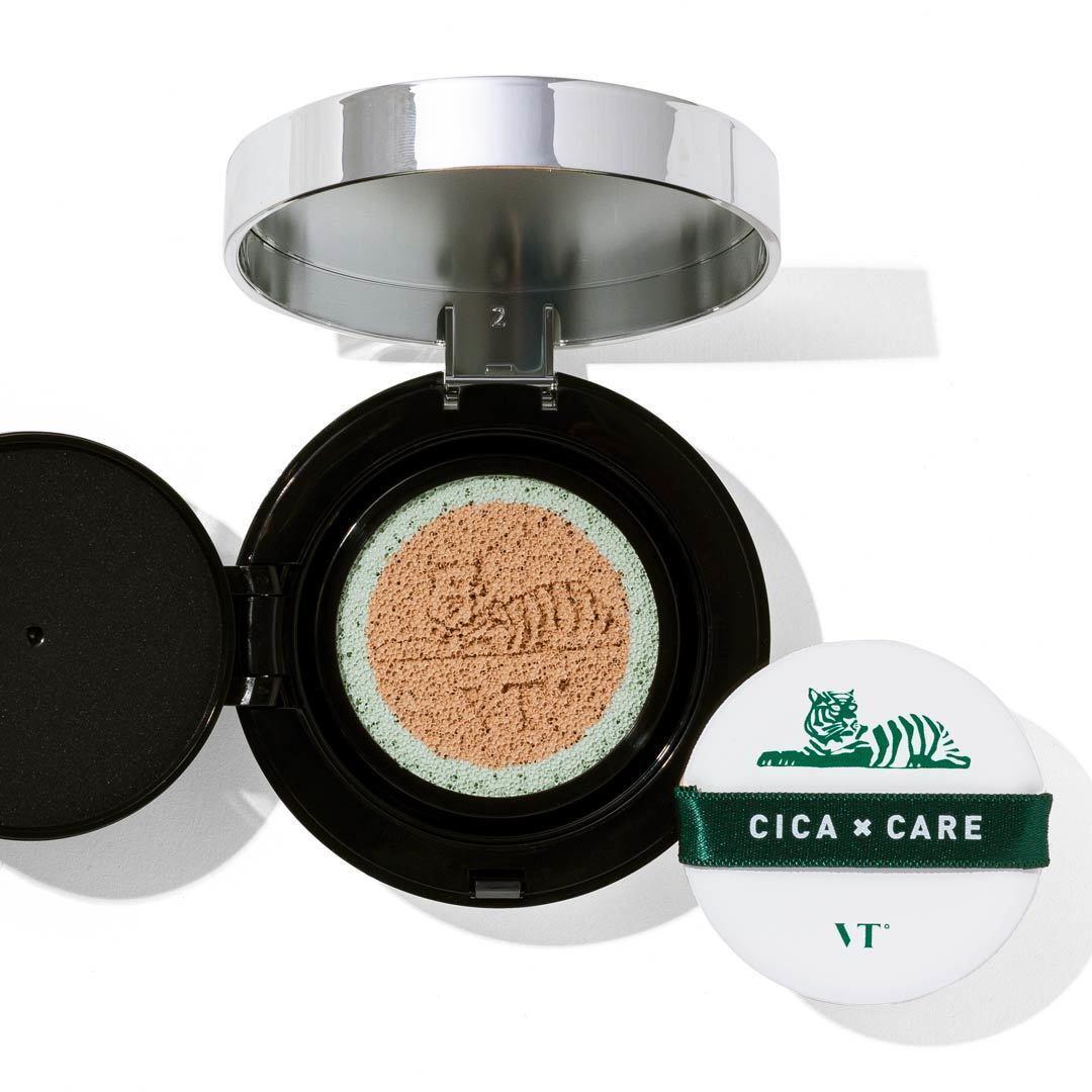 VT cosmetics(ブイティコスメティクス)『シカレッドネスカバークッション 13 バニラベージュ 』の使用感をレポに関する画像1