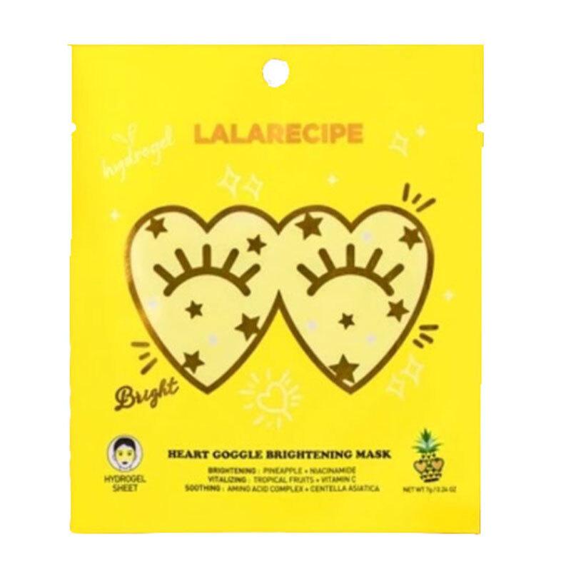 ハートの見た目がキュートなLALARECIPE(ララレシピ)『ハートゴーグルブライトニングマスク』の使用感をレポに関する画像1
