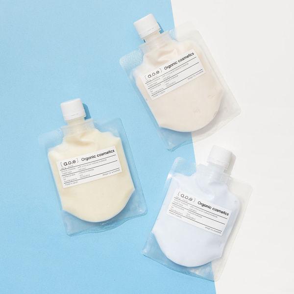 肌悩みに合わせて選ぶオーガニック泡パッククレイ洗顔料  ブーストフェイシャルウォッシュ オーガニック洗顔料に関する画像1