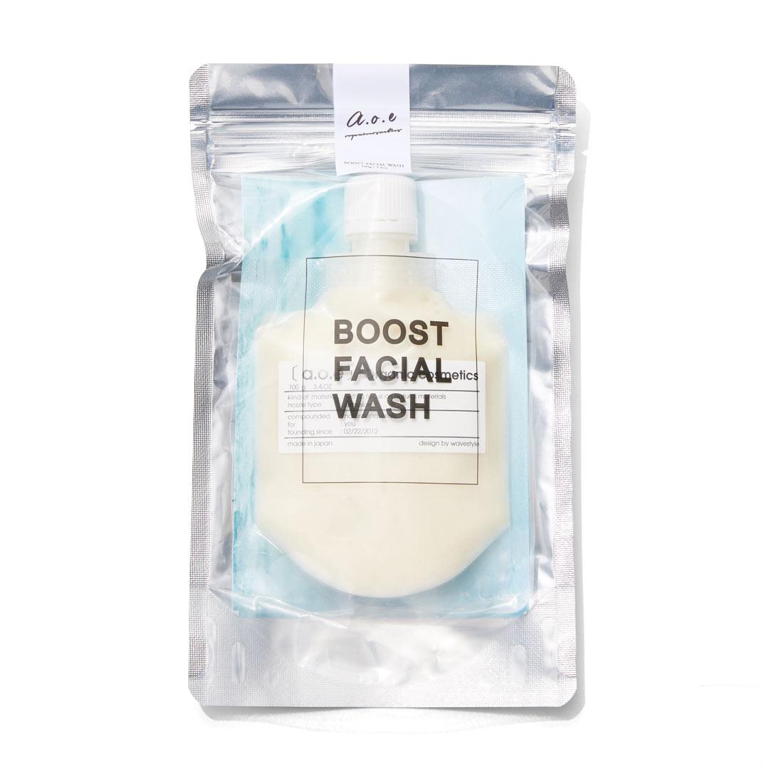 肌悩みに合わせて選ぶオーガニック泡パッククレイ洗顔料  ブーストフェイシャルウォッシュ アクネ予防、オイリー肌に関する画像6