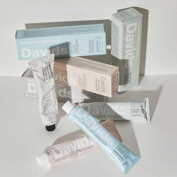 歯磨き粉にもこだわって♡ Davids『ホワイトニングトゥースペースト ペパーミント』をレポに関する画像1