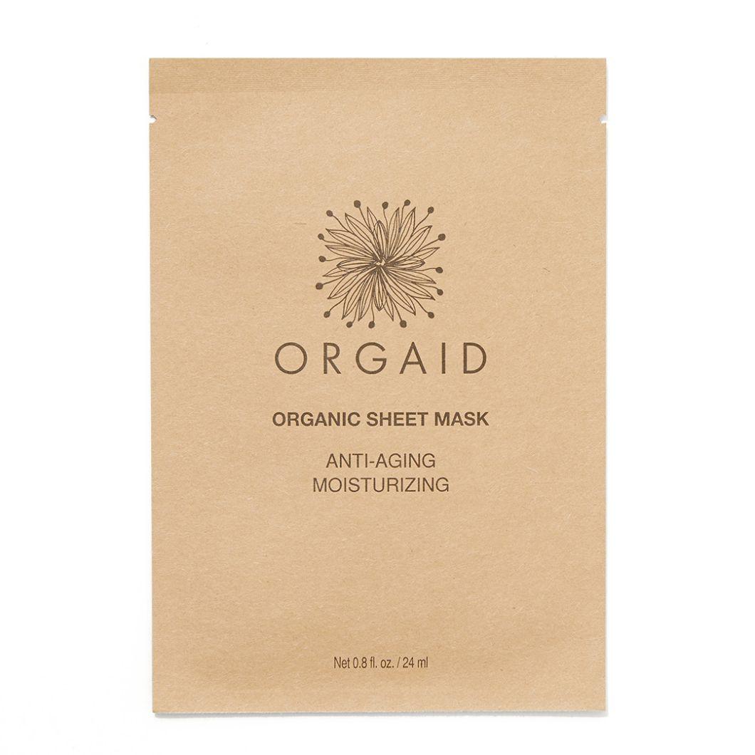 うるおい・ハリ・ツヤが欲しいお悩み肌の方必見! ORGAIDのオーガニックシートマスクで栄養の行き届いた肌に! に関する画像1