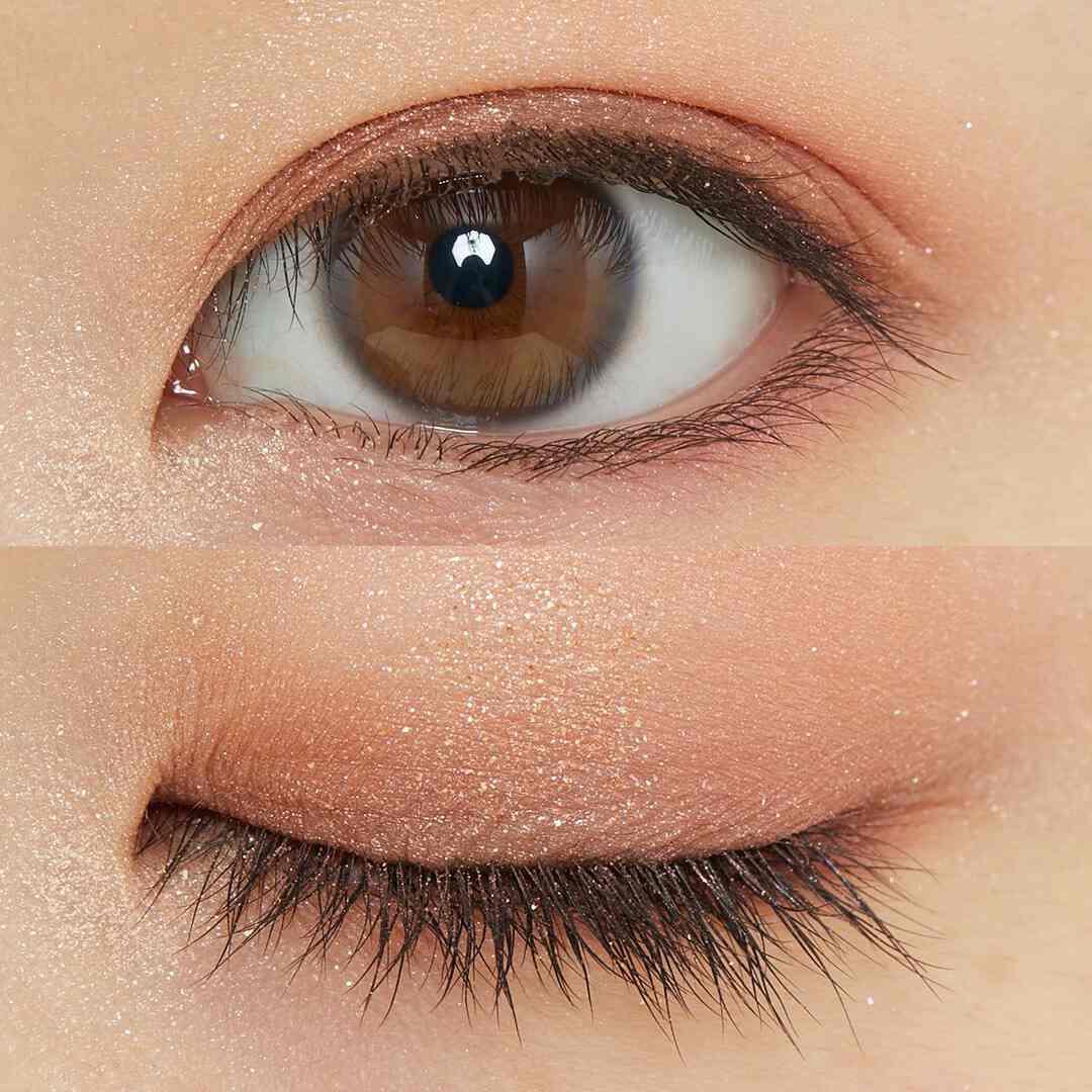 瞳にきらめきを♡ CLIO『プリズムエアアイパレット 01 コーラルスパークル』をレポ!に関する画像11