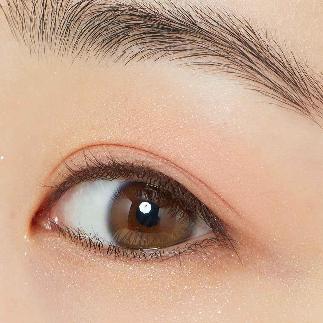 瞳にきらめきを♡ CLIO『プリズムエアアイパレット 01 コーラルスパークル』をレポ!に関する画像14