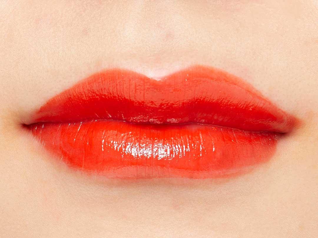 シルクのようなツヤ感リップに♡ 『オイルス サテンフィット ミニリップスティック 03 サテンオレンジ』をご紹介に関する画像5