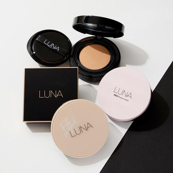 透き通るような美しい肌に♡ LUNAのクッションファンデーションをレポに関する画像1